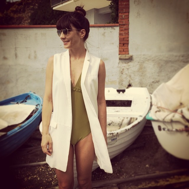 #oggiholafregoladi plunge into the past. #70s #retro #mum #swimwear #vintage #weloveit #retro #sumer #holidays #fashion #fashionblog #style #stylish #styledumonde #streetstyle #streetfashion #streetchic #green #pretty #girls #igers #boat #liguria #fregole #sea #estate ????