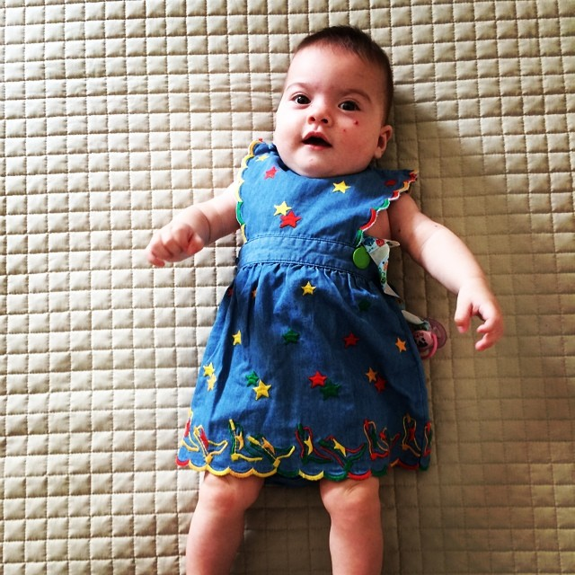 #oggiholafregoladi little stars! #fashion #blog #blogger #igers #kids #baby #pretty #girls #loveit #style #stylish #mydailylook #lookoftheday #stars #chic #kidsfashion #summer #violalisetta #holidays #fregole #babyfregole ? / More at www.fregole.com