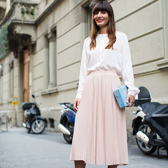 #oggiholafregoladi heart attack. I'm on @thesartorialist with this pic shot during #mfw. #dream #happy #streetstyle #streetchic #inspiration #fashion #style #smile #girl #totalpink #fregole ?? thx you so much Scott Schuman!