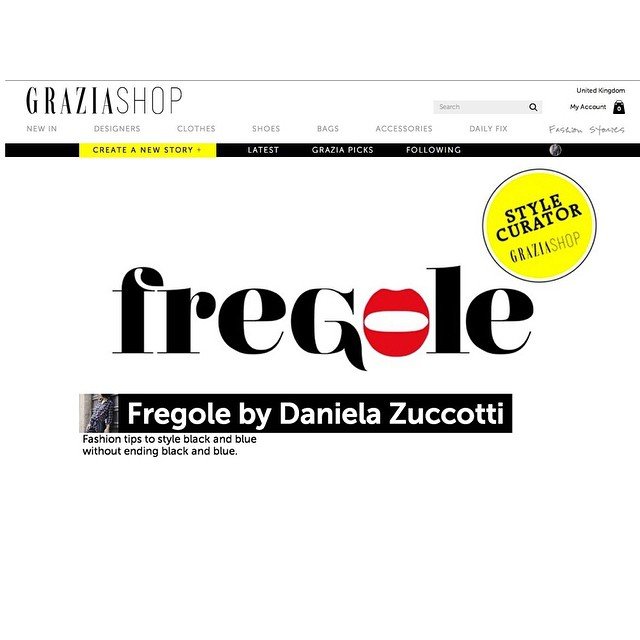 #oggiholafregoladi Introducing one of the new Style Curator at @graziashop: that's me!!! ????????? #happy #happytime #fashion #style #streetstyle #streetchic #proud #goodnews #inspiration #fregole ? @grazia_it / take a look at www.graziashop.com, follow my fashion stories and buy your favorite fregole ?
